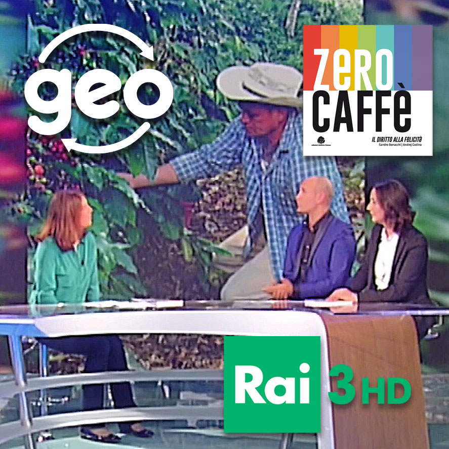 PRESENTAZIONE DEL LIBRO ZERO CAFFE A GEO- RAI 3